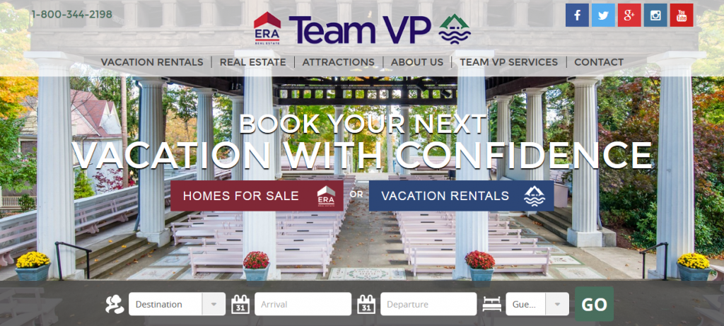 Book your next vacation with confidence