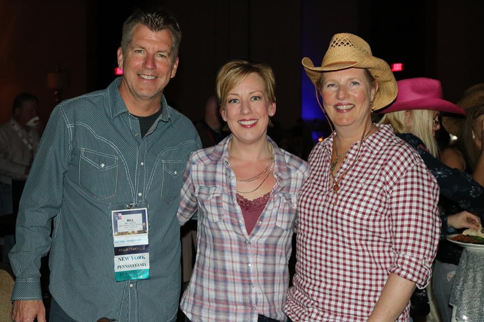Bill Soffel, Sue Yannaccone, Kari Soffel at the ERA IBC Conference